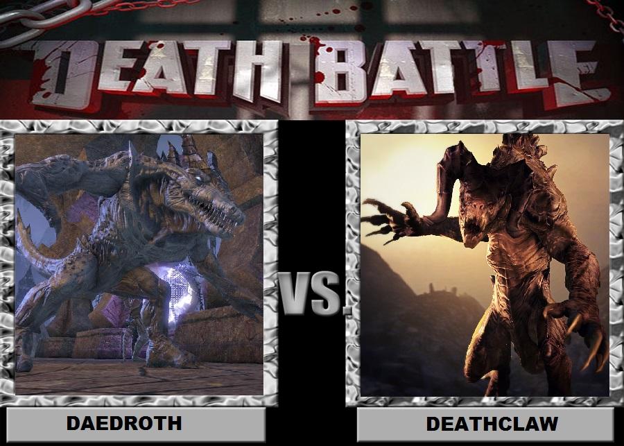 Daedroth vs Deathclaw by Brasc