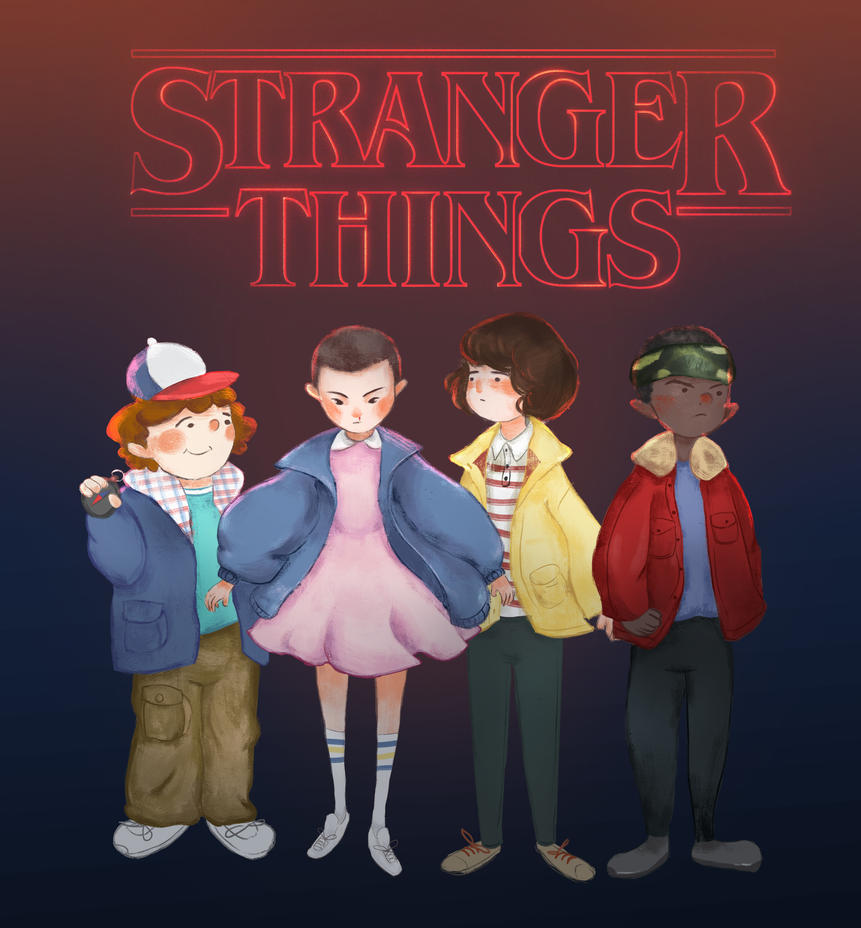 Stranger Things by BunnyQueenT