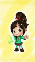 Vanellope-you are the best! by summilly