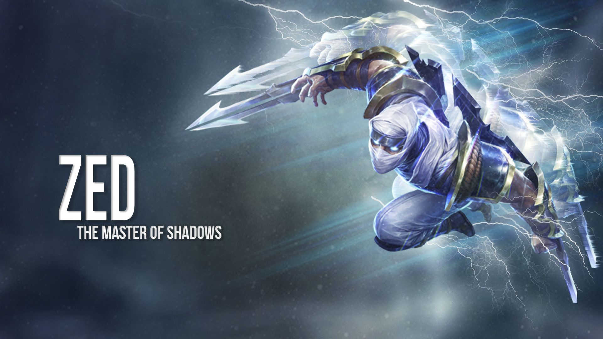 Zed, the master of shadows (october 15th, 2013)