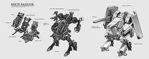 Combat Mech design