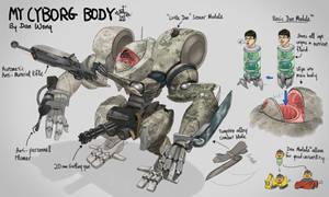 My Cyborg Body by ZeeJayWong