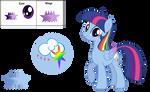 Rainbowlight MLP Next Gan by cmors12