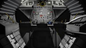 Apollo Eagle Interior view