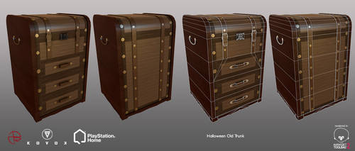 Halloween Old Trunk - PSHome