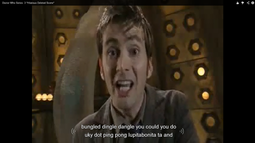 Doctor who subtitles