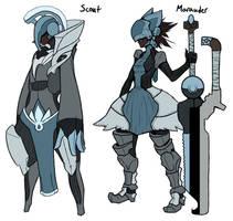 Ciel Kingdom Knights Concepts by Midnitez-REMIX