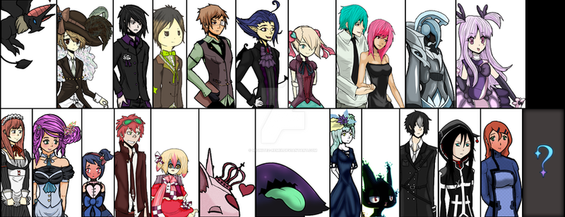 Celestite Version 2 Character Art by Midnitez-REMIX