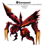 BW3: Extreme Speed Genesect BRS Form by Midnitez-REMIX