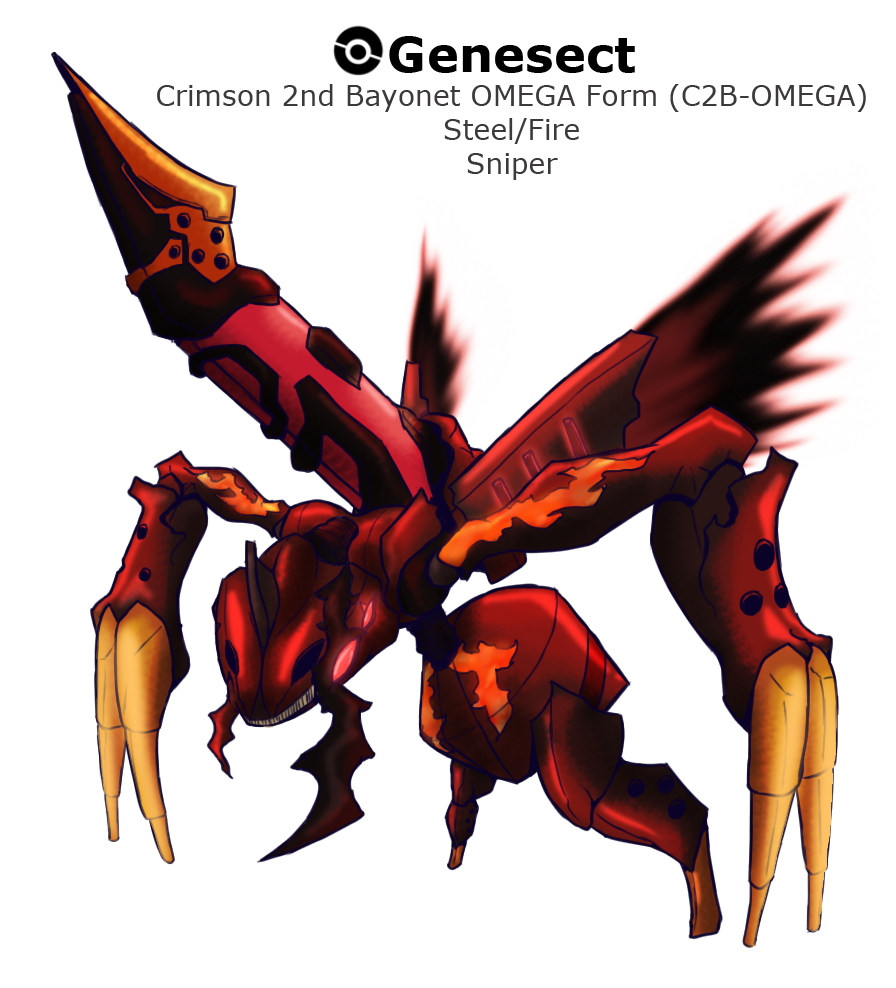 Genesect Origin Forme by VirusEffect on DeviantArt