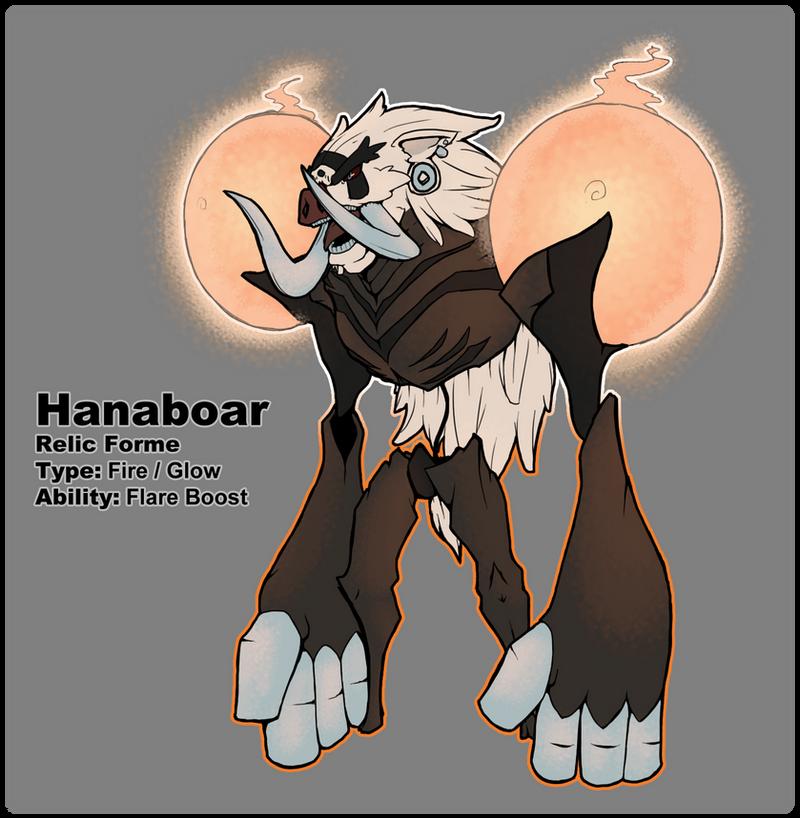 BW3 Pokedex: Hanaboar Relic Form by Midnitez-REMIX