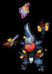 Pokemon Melanite Version: Mega Toxicroak