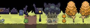 PKMN Halloween Game: Tileset Example