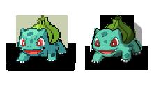 Sprite Draw: Bulbasaur by Midnitez-REMIX