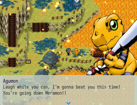 Digimon World MV: Story Screenshot