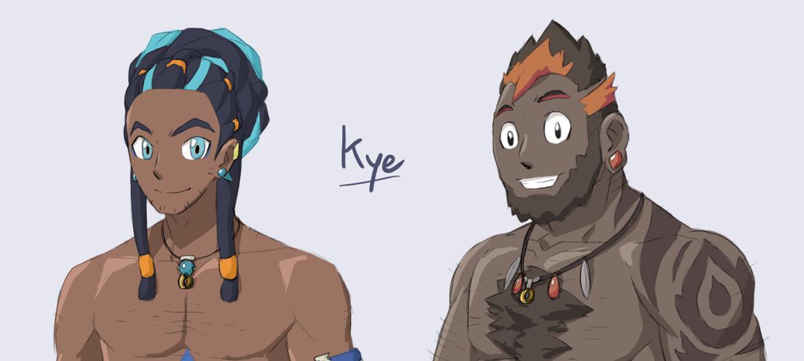 Pokemon Dusk Purple: Kye WIP