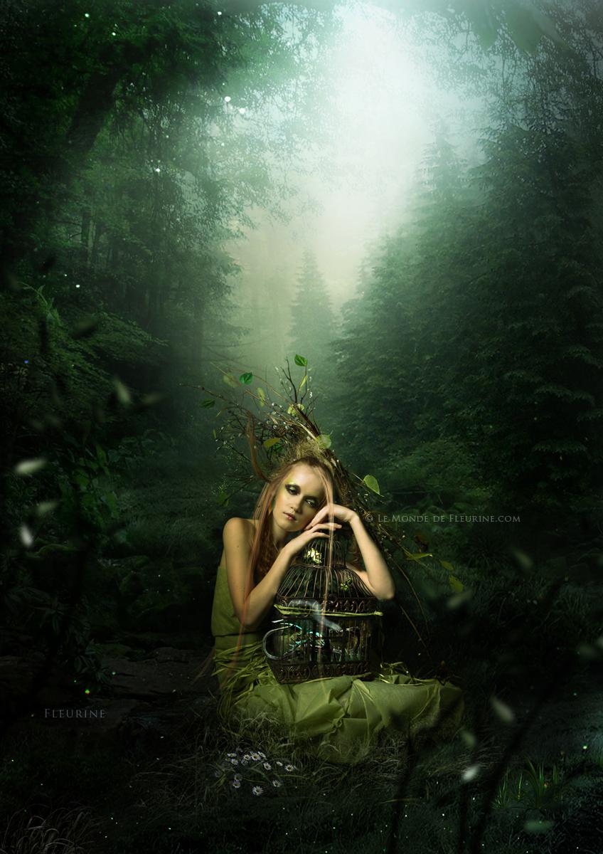 La Dame verte by Fleurine-Retore