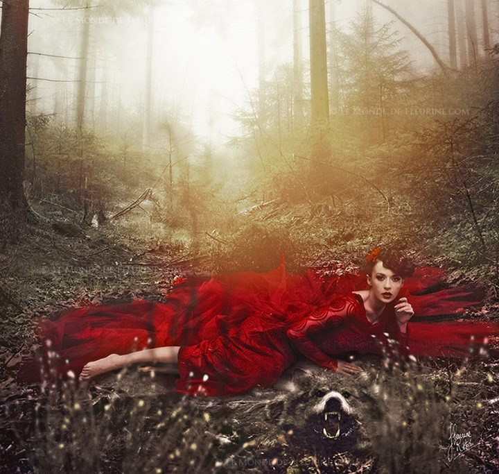 Bad Little Red Riding Hood by Fleurine-Retore