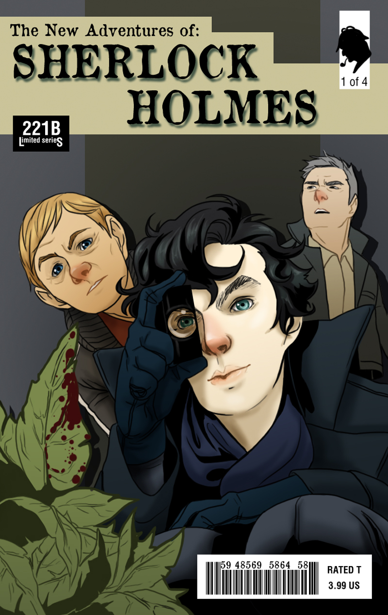 The New Adventures of Sherlock Holmes by LimitBreakComics