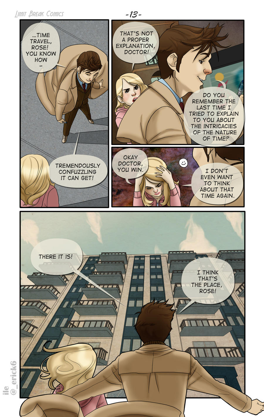 The Non-Deductive Enigma (pg. 13) by LimitBreakComics
