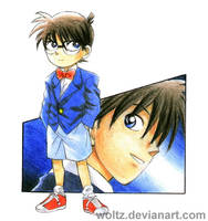 Detective Conan by Woltz