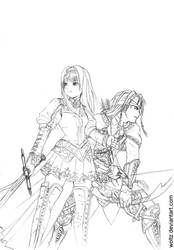 Valkyrie Profile 2 Lineart