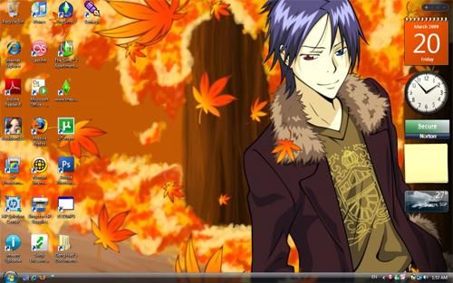 Desktop Screenshot: Mukuro by unweaving