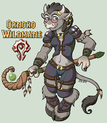 Ornoko Wildmane by TehMutt