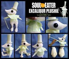 Excalibur FanArt Plush