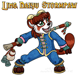 [WoW Commission] Ling Daiyu Stormpaw