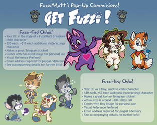 Pop-Commissions (CLOSED FOR NOW!) by TehMutt