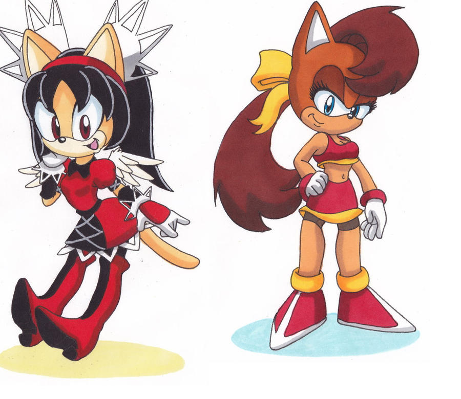 The Forgoten Girls by SonicSATAMxSEGAsally