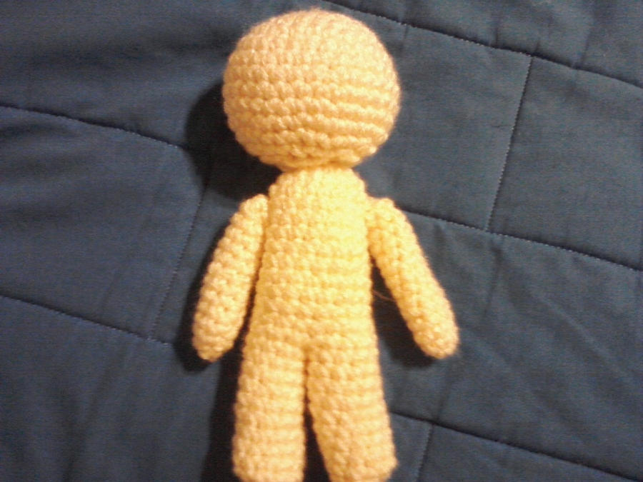 Crochet Amigurumi Doll Body : Doll body amigurumi by orijans on DeviantArt