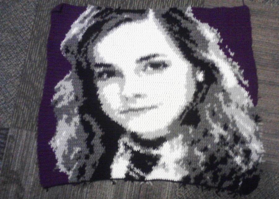 Hermione Granger Crochet Square by orijans
