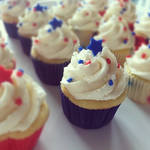 4th Of July Cupcakes by BakedWithLove