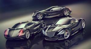 concept cars by AleksCG