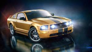 Mustang by AleksCG