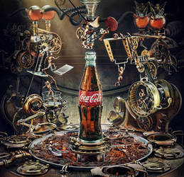 Coca Cola Olympic Games by AleksCG