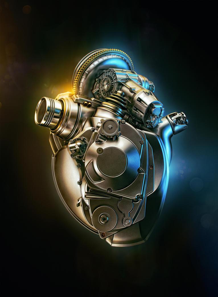 Heart Engine B by AleksCG