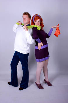 Mystery Inc - Fred and Daphne