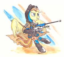 Stjonal Owerwatch armor [commission]