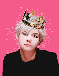 BTS - Taehyung by DragonsAnatomy
