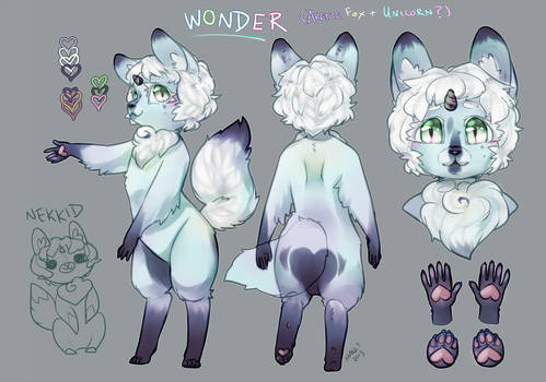 Wonder! :Character Sheet: