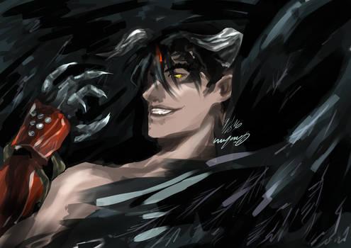 speedpaint - devil jin
