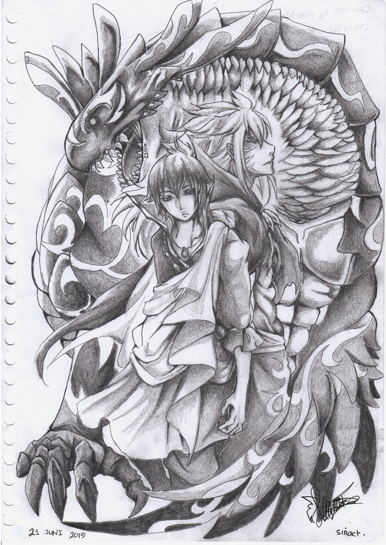 relationship of zeref and acnologia in human
