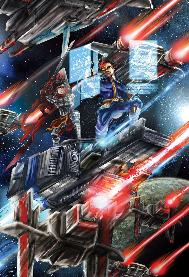 Starship Samurai Combat Commission by timberking
