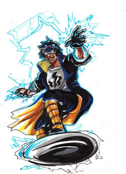 InbeonCon Sketches: Static Shock
