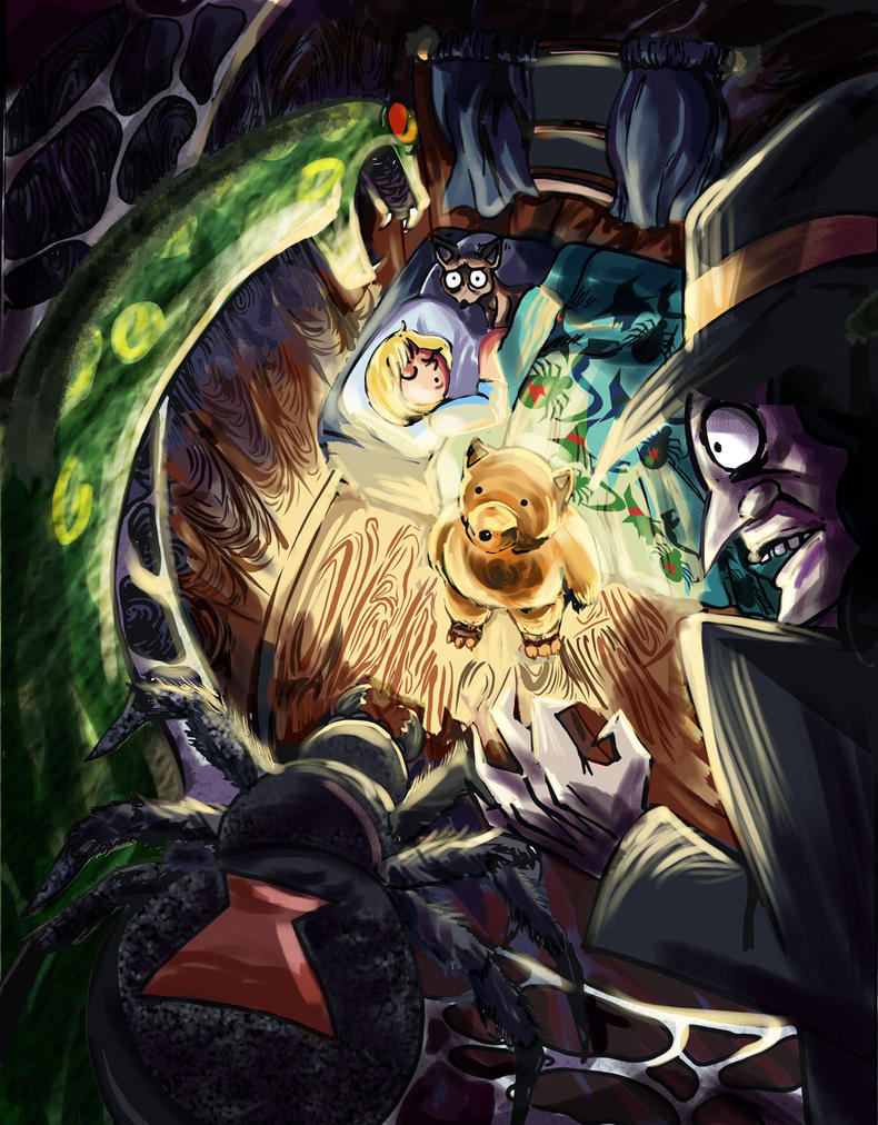 Halloween Creeps by timberking