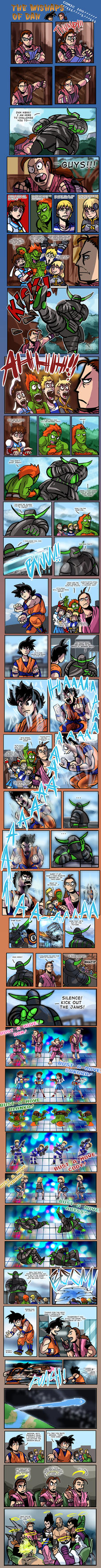 The Mishaps of Dan 100: The Super Comic!!!! by timberking
