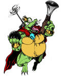 TooManyGames Commission: King K. Rool by timberking